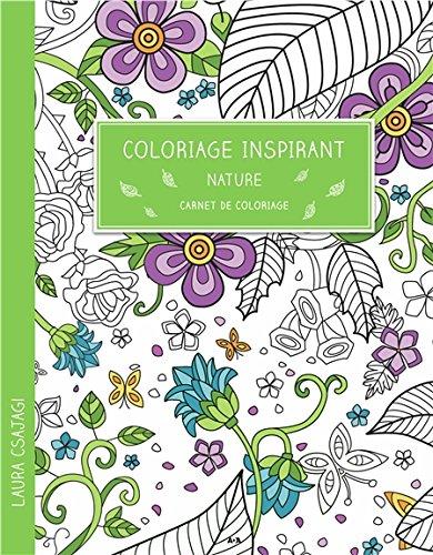 Coloriage inspirant - Nature - Carnet de coloriage