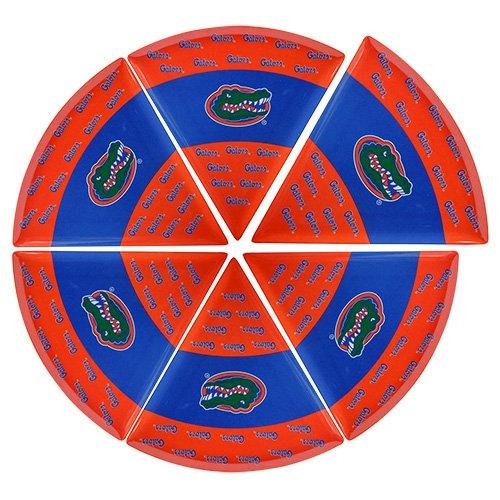 Supreme Housewares NCAA Florida Pizzateller (Set of 6), blau/orange
