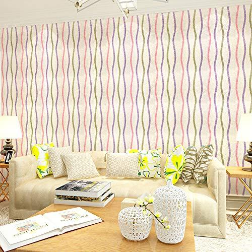 Selbstklebende tapete einfache streifentapete schlafzimmer wohnzimmer wandaufkleber renovierung dekorative aufkleber tapete- 45cm * 10m