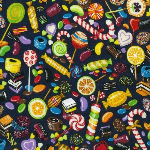 fat-quarter-candyland-printed-100-cotton-quilting-fabric-sweets-and-treats