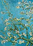 Vincent Van Gogh Poster Papier Peint - Branche D'Amandier en Fleurs, 1890, 2 Parties (250 x 180 cm)