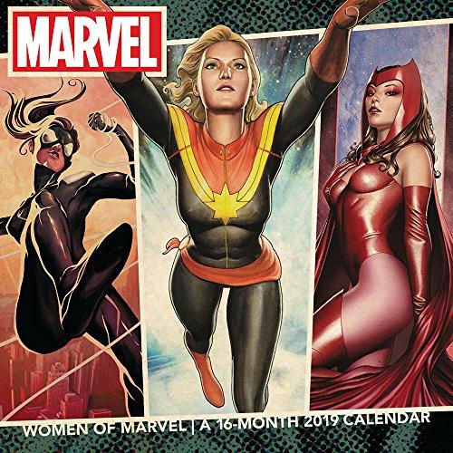 Frauen Marvel Wandkalender (2019)