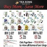 Keramik Teetasse (310 ml) mit Infuser und Deckel, (WD), Reise Teegeschirr mit Filter Chinesischer Drache, Teetasse Steiler Maker, Brühsieb für Loose Leaf Tee, Diffusor für Geschenk Teamug.