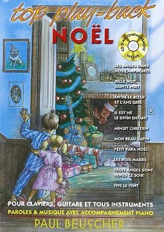 Top play back NOEL livre + CD