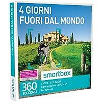 Smartbox - Cofanetto Regalo - 4 GIORNI FUORI DAL MONDO - 360 soggiorni in agriturismi e hotel 3* o 4*