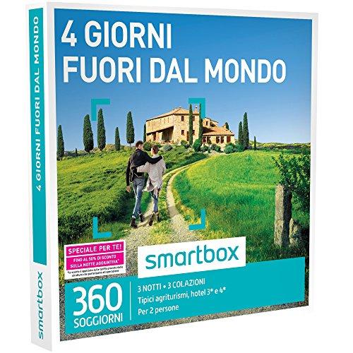 SMARTBOX - Cofanetto Regalo - 4 GIORNI FUORI DAL MONDO - 360 ...