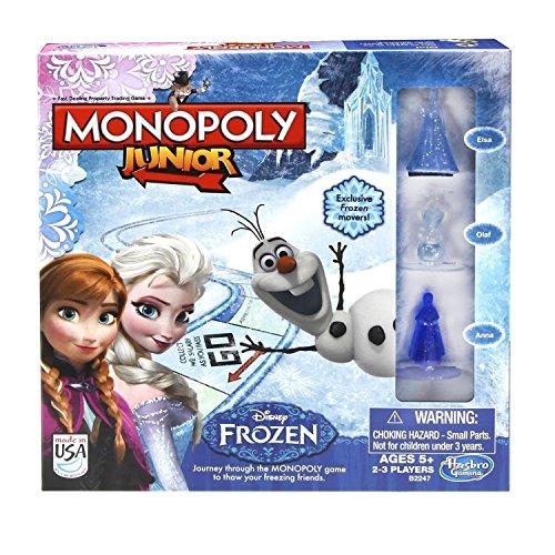 Disney Monopoly Junior Game Frozen Edition