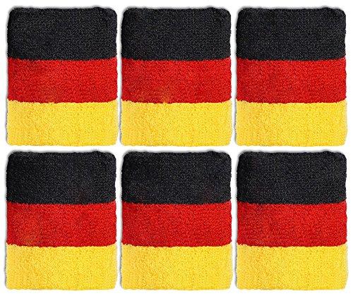 Deutschland Schweißbänder 12-Stück