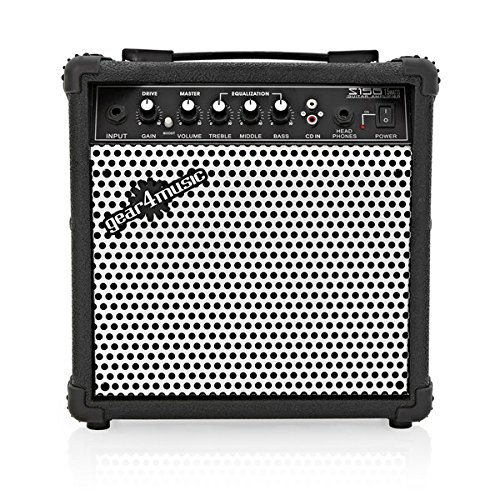 Amplificatore per Chitarra Elettrica 15W Gear4music