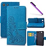 COTDINFOR Sony Xperia Z3 Compact Case Wallet Bookstyle Pu