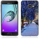 Coque Samsung Galaxy A3 (2016), Fubaoda Belle et romantique série Paysage Étui TPU silicone élégant et sobre pour Samsung Galaxy A3 (2016) (A310)