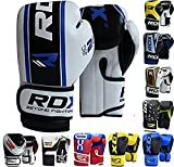 RDX Maya Hide Leather 4oz, 6oz Kids Boxing Gloves Junior Punch Bag MMA Training Muay Thai Mitts
