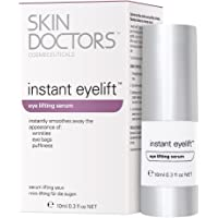 Skin Doctors Instant Eyelift, with Hyaluronic Acid, helps the appearance of wrinkles, eye bags, puffiness, and tightens…