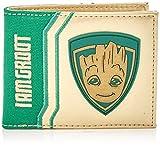 Gardiens de la Marvel Comics Galaxy Vol. 2 I Am cas de carte de crédit Groot Faltportemonnaie, 17 cm, blanc / vert