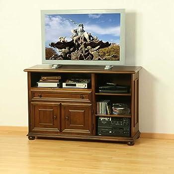 Pharao24 Tv Sideboard Aus Nussbaum Antik Italienischer Stil Amazon