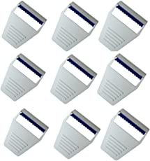 gallant Swezor Surgical Disposable Preparation Razor Mostly Used by Doctor (White, 2654889) - Set of 9