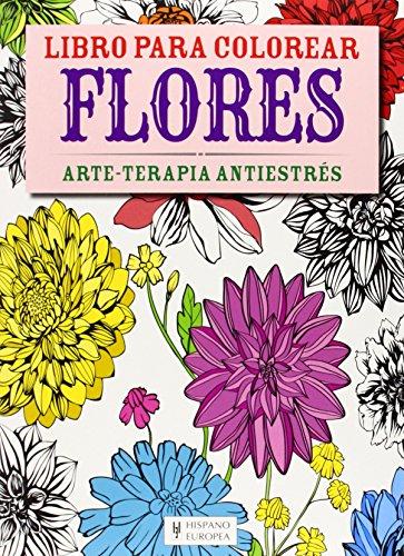 Flores (Libro para colorear)
