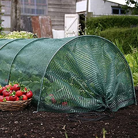 3M LARGE Net Garden Cloche Tunnel Long Grow Plant Cover