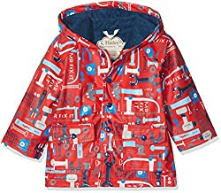 Hatley Little Boys Printed Raincoats, Lots of Tools, 6