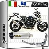 Arrow Auspuff Komplett Hom Racetech Aluminium Carby Suzuki GSR 75020121271776AK + 71444Ich + 71443Ich
