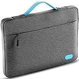 Ellitac® Laptophülle 15 Zoll 15,4 Zoll MacBook Pro Retina Laptop Ultrabook Schutztasche Sleeve Schutzhülle, Spritzwasserfest, Grau / Blau