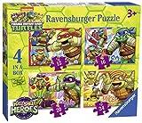 Ravensburger Teenage Mutant Ninja Turtles Halbschalen-Helden, 4-in-einer-Box (12, 16, 20, 24-) Puzzle