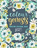 Colour Genesis: Inspired To Grace: Christian Colouring Books: Day & Night (Inspirational Colouring Books for Grown-Ups)