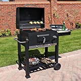 Best Charcoal Smokers - Wido Black Charcoal Smoker Bbq American Style Barbecue Review