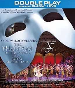 The Phantom of the Opera at the Royal Albert Hall - Double Play (Blu-ray + DVD) [Region Free]
