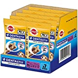 Pedigree Dentastix For Small Breed Dog, 1.1 Kg (7 Sticks, Pack Of 10 )