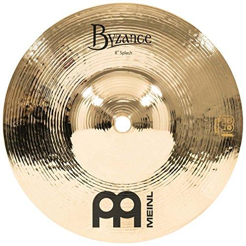 Meinl Cymbals B8S-B Byzance Brilliant Serie 20,32cm (8 Zoll) Splash Brilliant Finish Becken