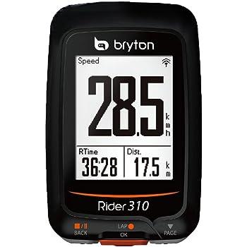 Bryton, Rider 310E, GPS, Unisex - Adulto, Nero