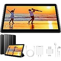 4G Tablet 10.1 Pollici con Wifi Offerte Tablet PC Offerte 8500mAh con Slot per Scheda SIM Doppio Memoria RAM da 3GB+32GB 8MP Camera Android 9.0 Quad Core Tablet Sbloccato WiFi/Bluetooth/ GPS/OTG