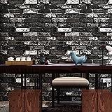 Retro Mottled Tiles, Ladrillos Rojos, Ladrillos, Fondos De Pantalla, Salas De Estar, Estudio De Habitaciones, Dormitorios, Restaurantes, Cafeterías, Fondos De Pantalla 3D, Negro