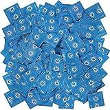 Sobre) clínica 100 preservativos Sin lubricante y depósito.