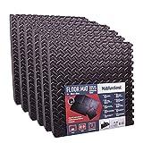 Steckmatten 36er Set 40 x 40 cm schwarz, EVA Schaumstoff 5,76m²
