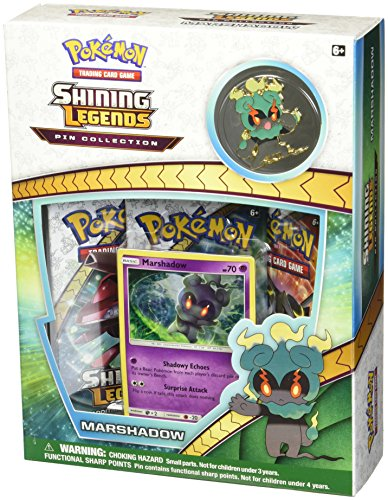 Pokemon USA, Inc. POK80366 Shining Legends Pin Collection Marshadow: Pokemon TCG, Mehrfarbig