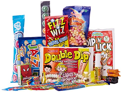 Just Treats Atomic Treasure Gift: Jam Packed with the Best Ever Retro Sweets