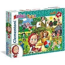 Clementoni 26422–Puzzle 60Maxi masha' S Tales
