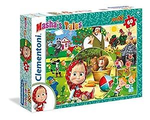 Clementoni 26422-Puzzle 60Maxi Masha
