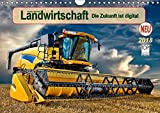 Landwirtschaft - die Zukunft ist digital (Wandkalender 2018 DIN A4 quer): Hightech in landwirtschaftlichen Maschinen. (Monatskalender, 14 Seiten ) ... [Kalender] [Feb 18, 2016] Roder, Peter