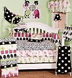 Cotton tale Designs Hottsie Dottsie 8pezzi Set di biancheria per culla