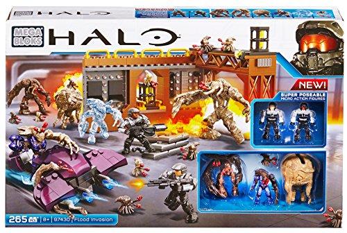 Mattel Mega Bloks CYY58 Halo - Flood Invasion (Waffen Halo-action-figuren)