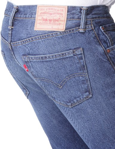 Levi's Herren Jeans 501 Original Straight Fit Blau (Hook 1307)