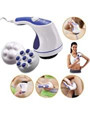 GZQNAN Amazingshop Plastic Relax Spin Tone Body Pain Relief Massager (Multicolour)