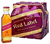 Johnnie Walker - Red Label Blended Scotch Whiskey 'Miniaturen'- 12