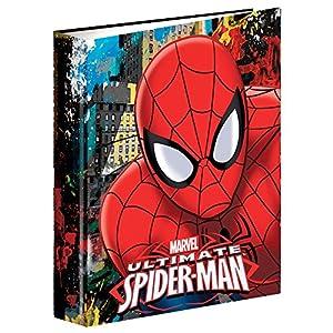 Spiderman- Carpeta con Anillas A4 (Montichelvo 54307)