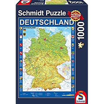 Schmidt spiele jigsaw puzzle 58287 germany map jigsaw puzzle 1000 schmidt spiele jigsaw puzzle 58287 germany map jigsaw puzzle 1000 pieces gumiabroncs Image collections