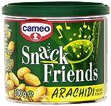 Cameo - Snack Friends, Arachidi Tostate e Salate - 4 confezioni da 200 g [800 g]