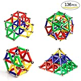 Ausear 136 Piezas Magnetic Sticks Building Block Toys, Children...